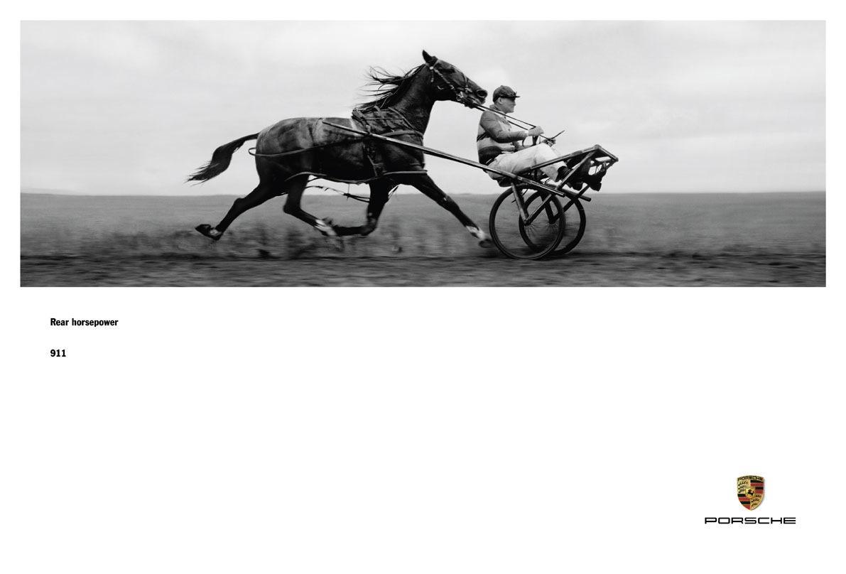 The Best Porsche Ads of All Time: Rear Horsepower
